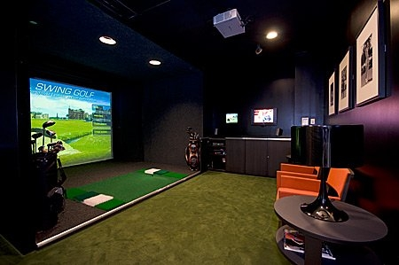 Golf Simulators Golf And Man Cave On Pinterest