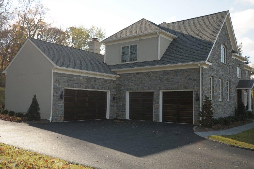 House With Four Car Garage Home Decor