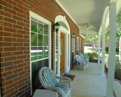"""Rocking Chair\"" Front Porch for coffee Sippin\' and Visitin\'!"
